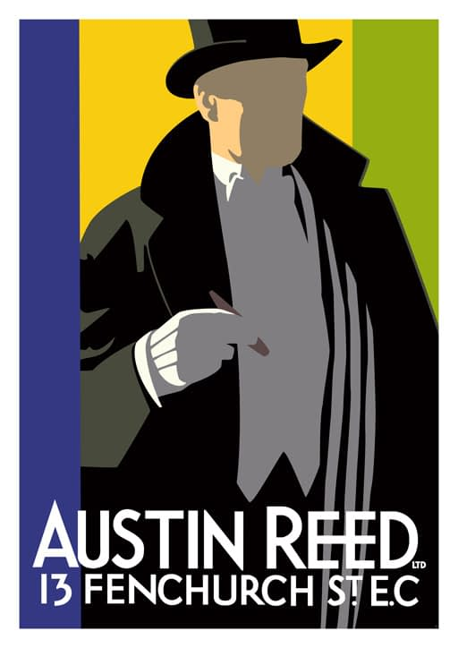 Austin Reed Art Print Don Henderson
