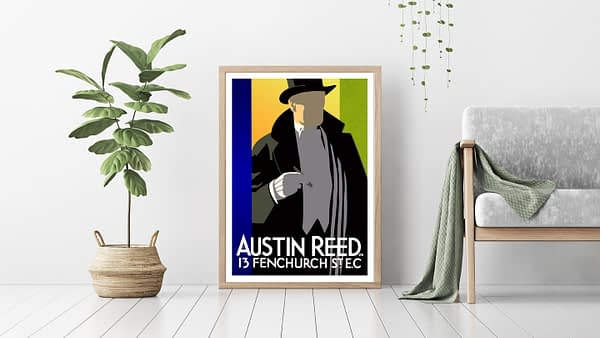 Austin Reed Vintage Poster Don Henderson